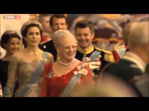 Gala dinner in honor of Queen Margrethe's 75th birthday