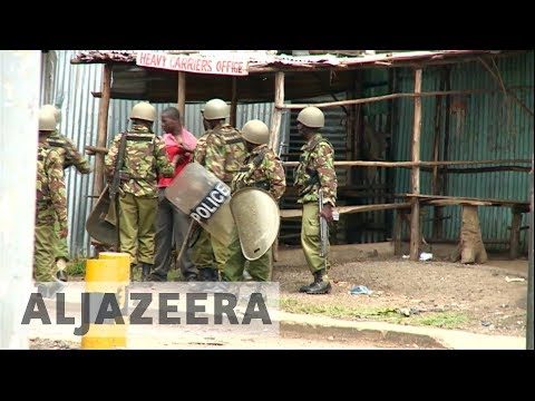 Kenyan police accused of using excessive force during election