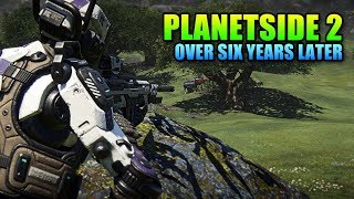 Planetside 2 Over Six Years Later. Now With DX11! - lulz