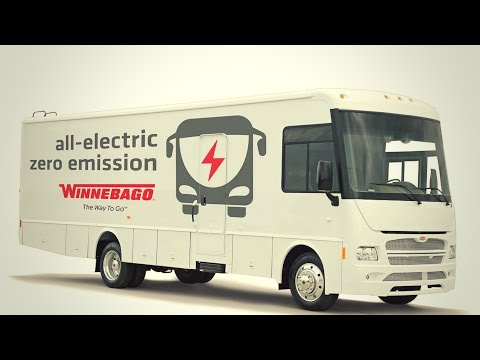 Winnebago Launches All Electric Class A, We Are Excited About It, What about you?