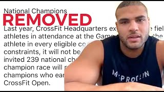 Zack's CrossFit® Games qualification taken away: HIS THOUGHTS