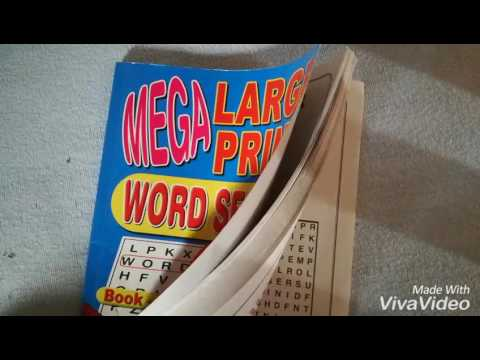 A champion challenge mega large print word search review