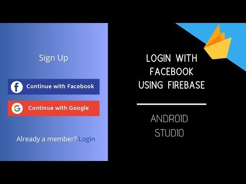 Login With Facebook - Firebase Tutorial | Facebook Sign In Android App