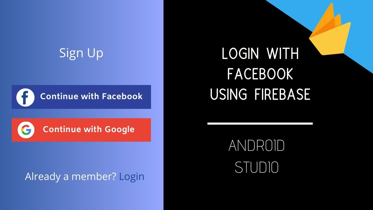 Login With Facebook In Android App Using Firebase