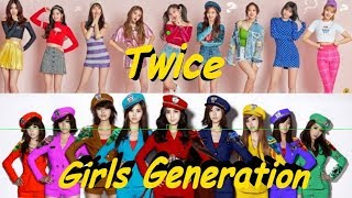 Twice VS Girls Generation - Stafaband
