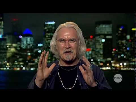 Billy Connolly interview on The Project (2012) - Brave