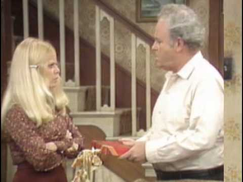 All in the Family - Archie's gift to Gloria