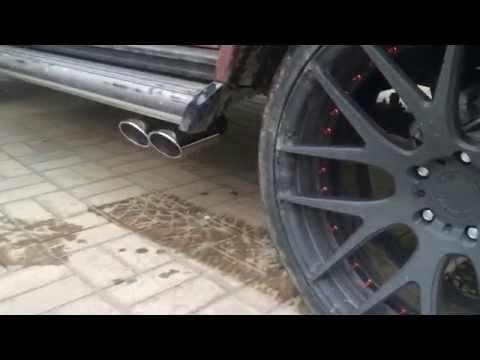 Тюнинг Краснодар спортивный выхлоп Mercedes W463 AMG G500 tuning elite.com