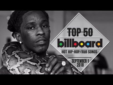 Top 50 • US HipHopR&B Songs • September 1, 2018  BillboardCharts