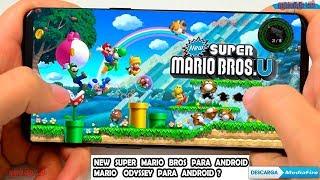 Porfin salio New Super Mario Bros y Mario Odyssey para ANDROID DESCARGA OFICIAL Y GRATIS