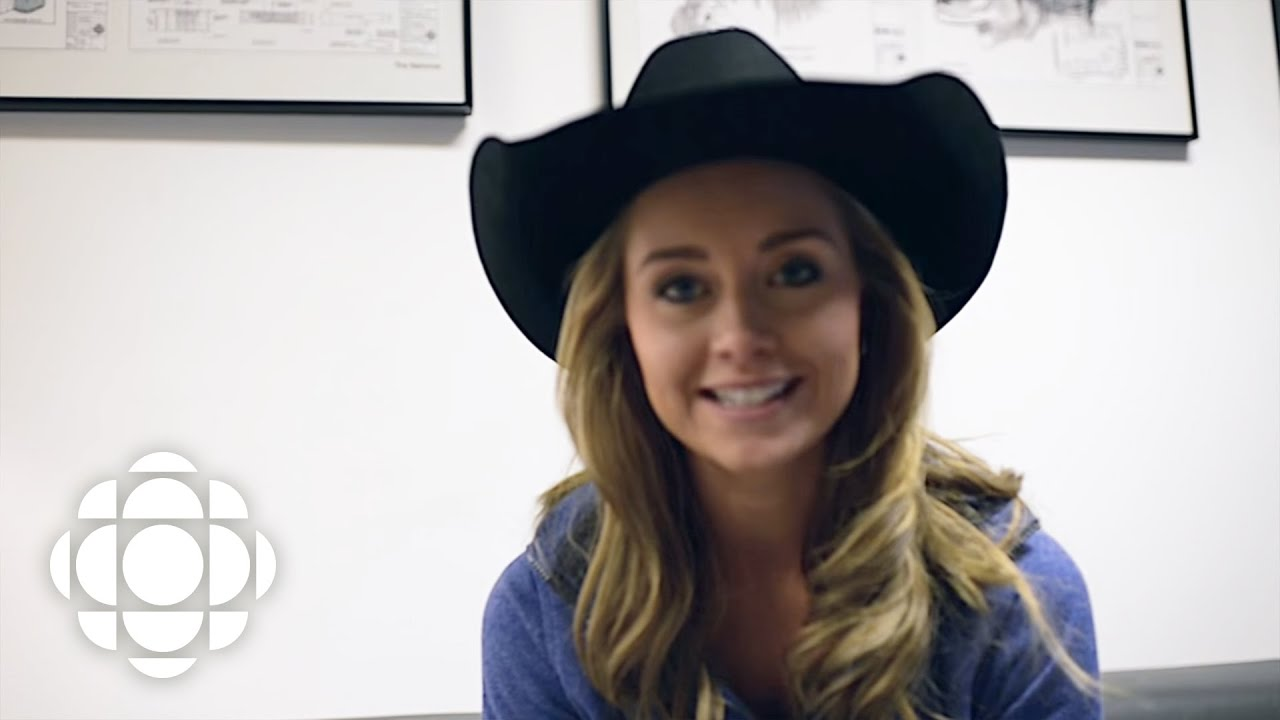 e341b9060 Amber Marshall behind-the-scenes for the Air Farce New Year's Eve special |  Heartland | CBC