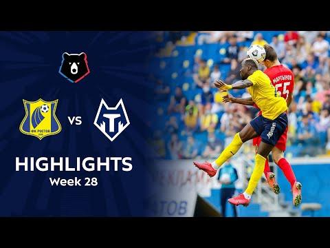 Rostov FC Tambov Goals And Highlights