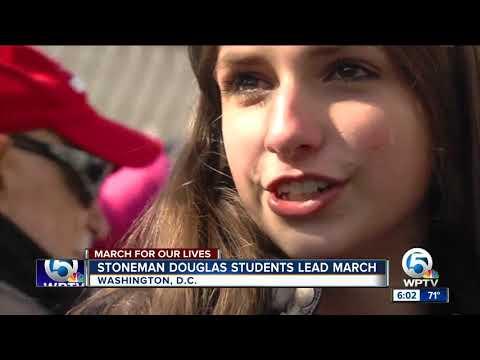 Marjory Stoneman Douglas High School Students March In Washington D.C.