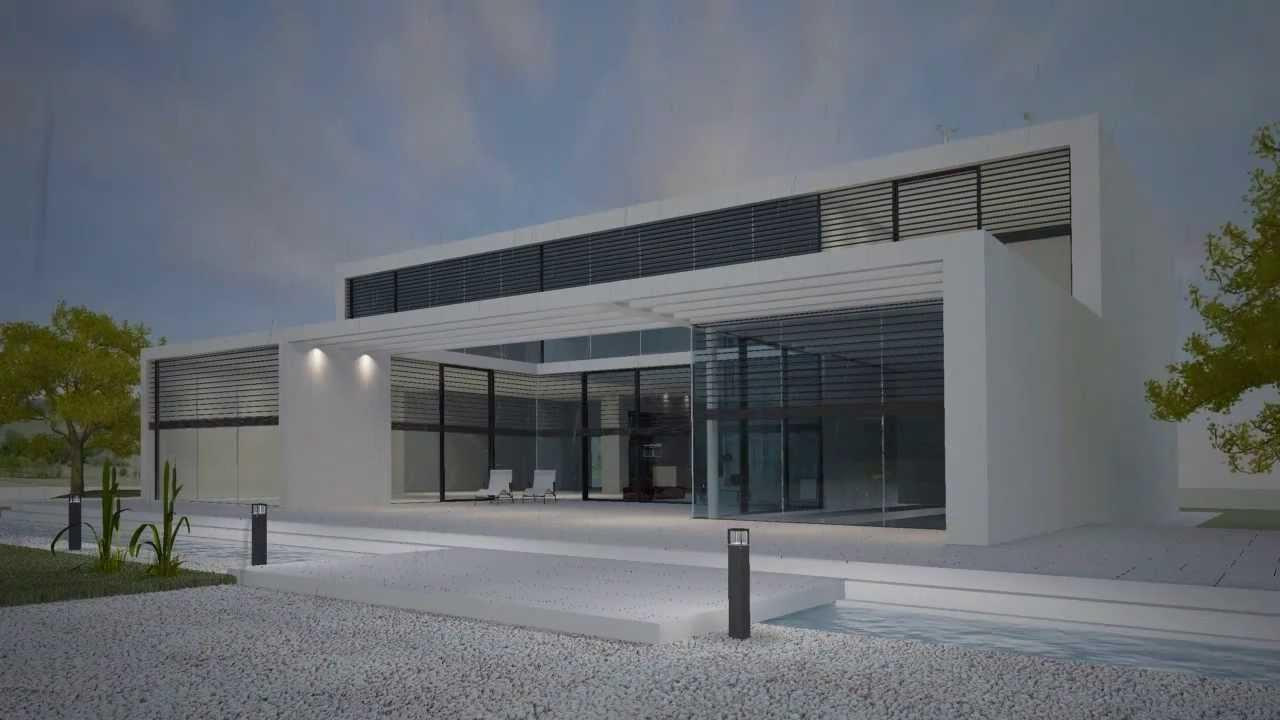 jung knx smart house solution youtube. Black Bedroom Furniture Sets. Home Design Ideas