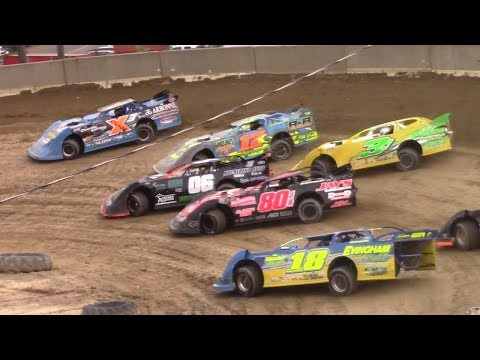 RUSH Crate Late Model Heat One | Old Bradford Speedway | 8-13-17
