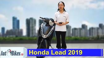 Đánh giá nhanh Honda Lead 2019 giá từ 38,3 triệu đồng: Thêm đèn LED, chống trộm