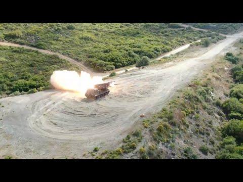 Βολές Πυροβολικού Μάχης στο ΠΒ Πετρωτών
