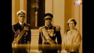 استقبال مردم و ملکه بریتانیا از پادشاه ایران