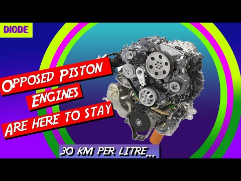 Opposed Piston Engines, the last hope for Diesel and Petrol (Gas) Engines for automobiles...(2020)