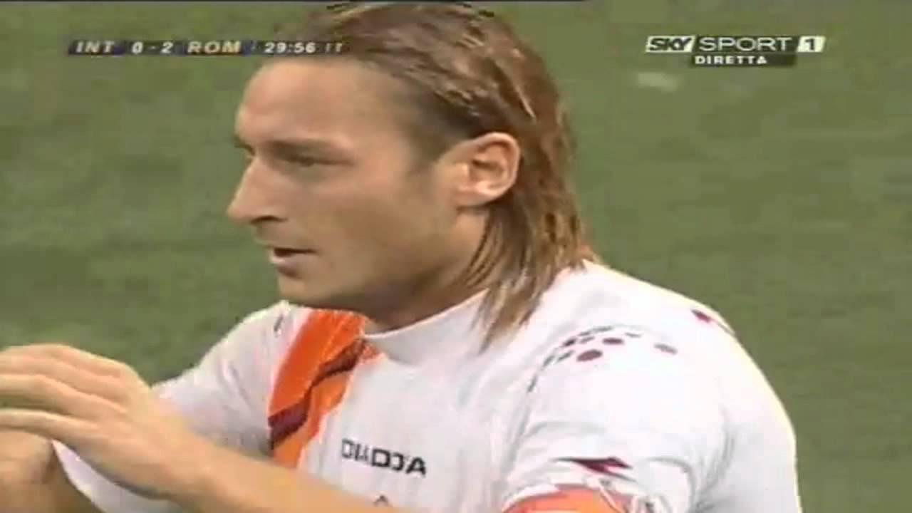 Francesco Totti Amazing Goal! [Cucchiaio]