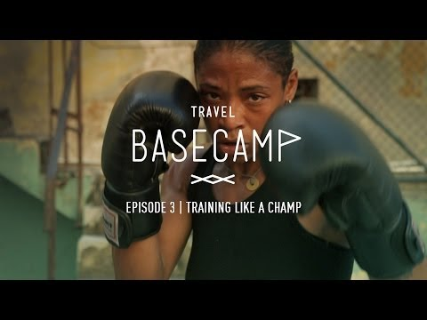 Training in Havana with the only Woman boxer of Cuba - Video 3/6
