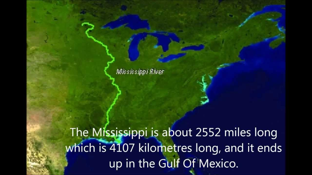 The Mississippi River - YouTube