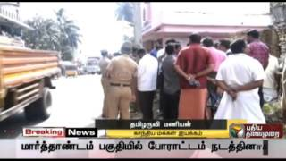 Mr.Tamilaruvi Manian on the shocking death of Gandhian and social activist Sasi Perumal spl video news 31-07-2015