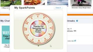 How to Use the SparkPeople Start Page