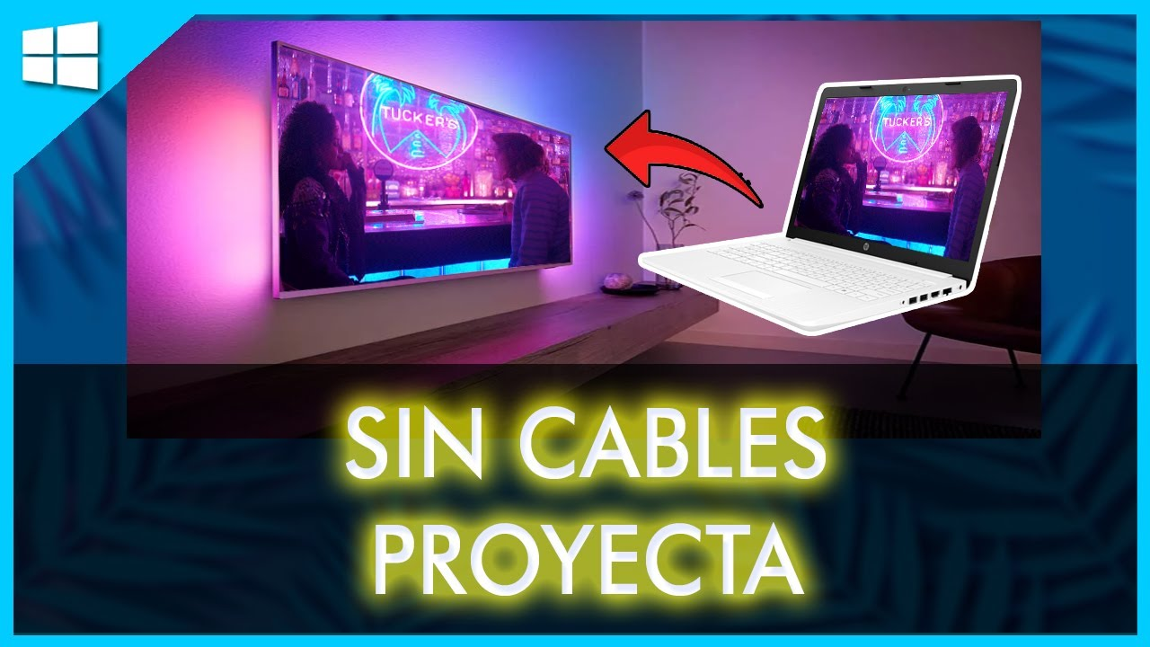 How to connect smart tv to laptop windows 10