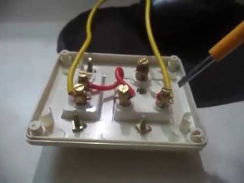 how to make a extension board one switch and one socket wiring youtube rh youtube com Outlet Wiring Wiring Cat5 Wall Plate Colors