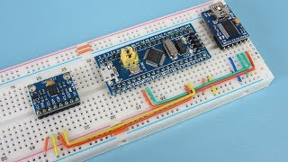 Arduino for STM32 + MPU-6050 == Improve your programming skills!