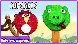 Angry Birds Movie Cupcakes Recipe | Learn How To Bake : Fun Food For Kids By HooplaKidz Recipes
