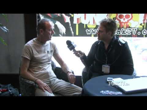 Hugh Cornwell Interview with PunkTV.ca by Dixon Christie Part 1 of 2