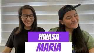 HWASA 'Maria' MV REACTION!!!