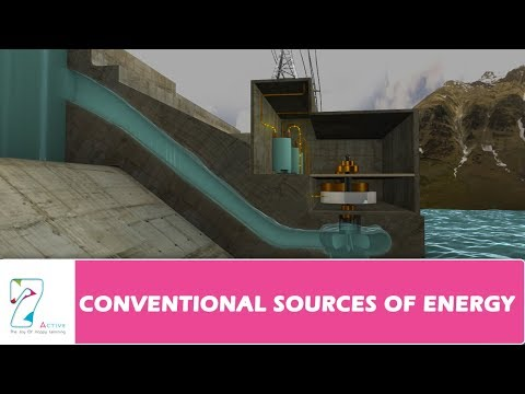CONVENTIONAL SOURCES OF ENERGY - PART 1