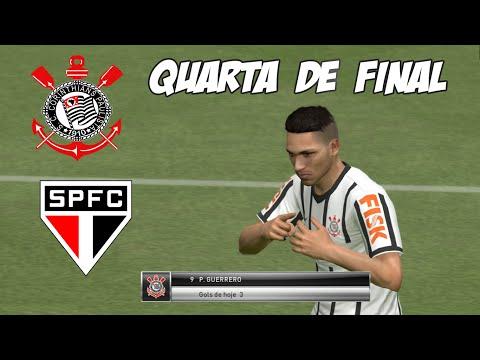 PES 2015 - Corinthians x São Paulo - Copa Libertadores I Quartas de Final -SEGUNDO JOGO