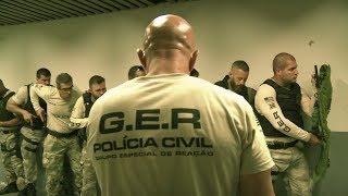 EP 04 - GER - Grupo Especial de Reação -  Polícia Civil do Estado de São Paulo - Police Brazil