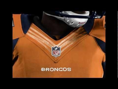Denver Broncos Uniform 2012 - NFL