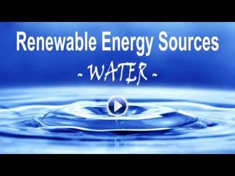 Renewable Energy by Water - Easy Home Energy Savings System - Go Green!
