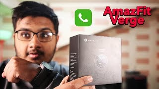 AmazFit Verge Unboxing | Call And Music On SmartWatch ⌚⌚⌚