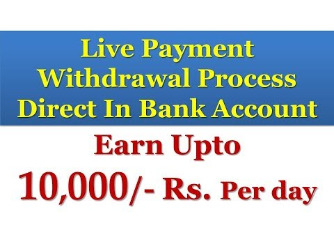 Live Payment Proof ! Earn Upto  10,000/- Rs. Per day  Without Any Investment ! Join Fast & Earn Fast