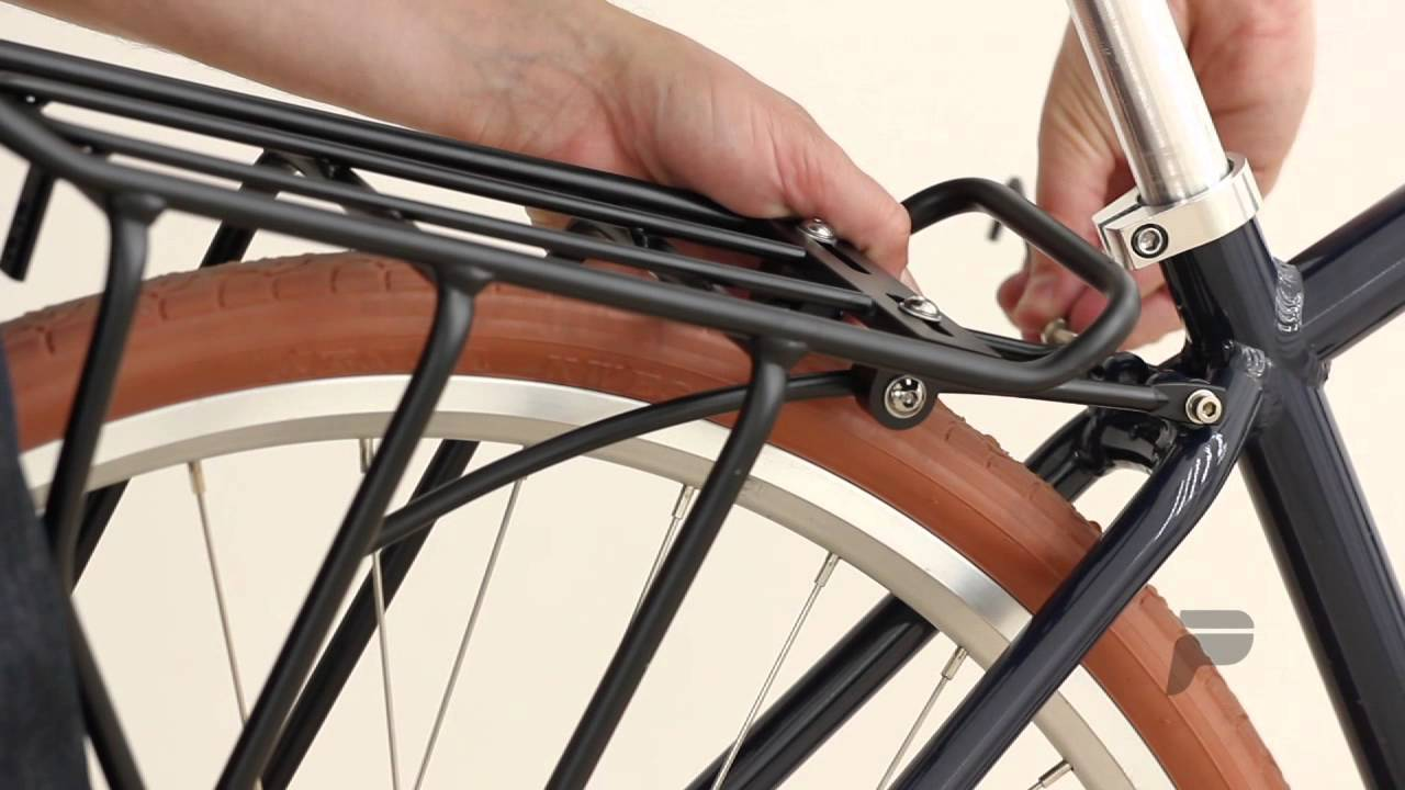 e7a749d07b5 Priority Bicycles Rear Rack Installation - YouTube