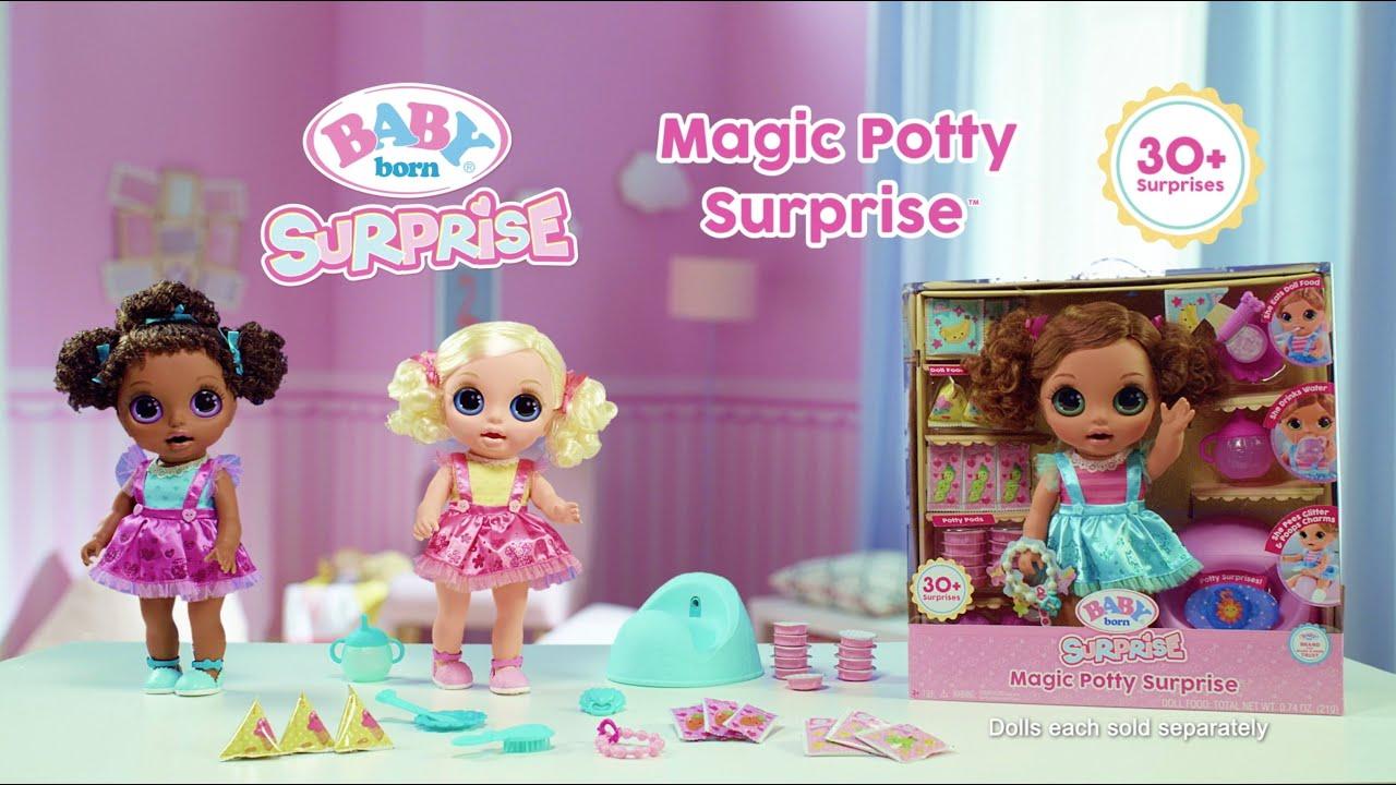Baby Born Surprise Magic Potty Surprise