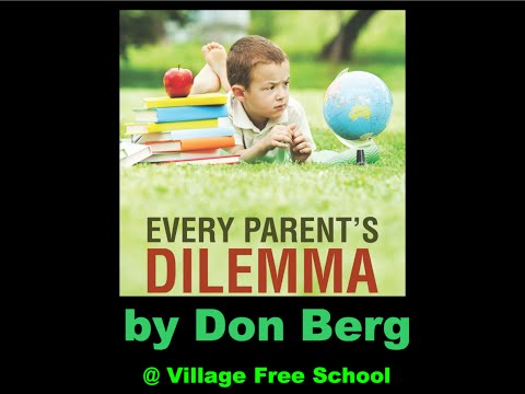 Every Parent's Dilemma Book Talk at Village Free School 14Mar15