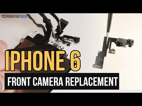 iPhone 6 Front Camera Replacement Video Guide