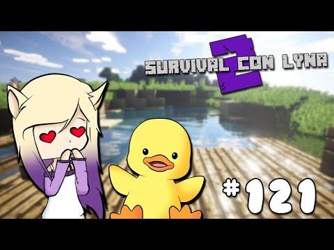EL SEÑOR PATO EN MINECRAFT | Survival con Lyna 2 | Episodio 121 thumbnail