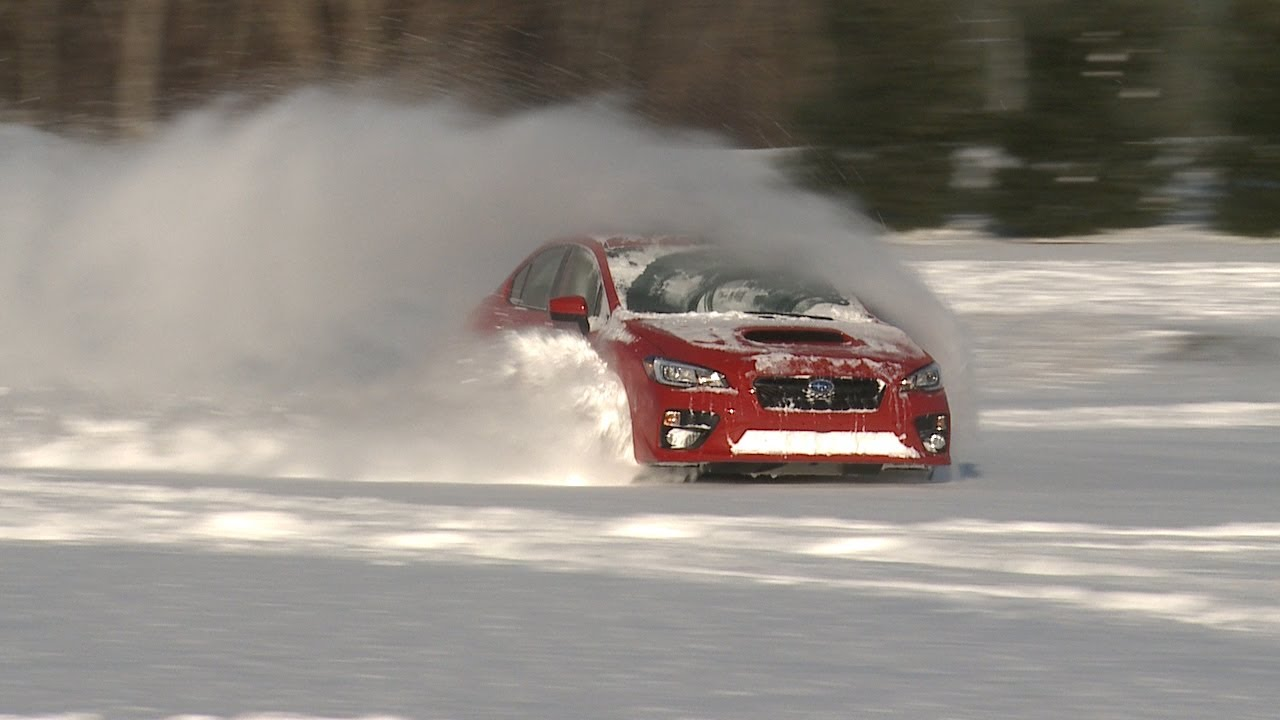 Subaru WRX vs. Snow | Consumer Reports - YouTube
