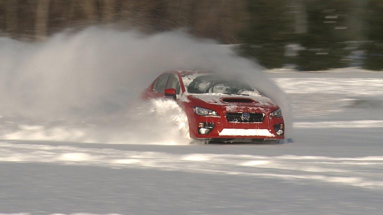Sti Hd Wallpaper Subaru Wrx Vs Snow Consumer Reports Youtube