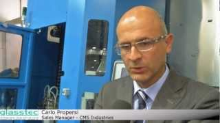 glasstec 2012: CMS and the vertical glass machine