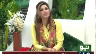 Neo Pakistan With Mariam Ismail 15 march 2016 - Cast Of Sawa Teen